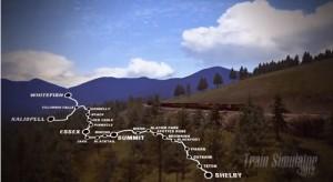 Maria Pass - Train Simulator 2013 Erweiterung